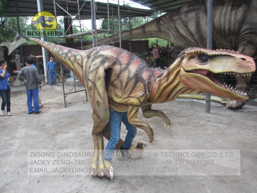 Making Process Of Dinosaur Costume